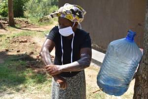 The Water Project: Maraba Community, Shisia Spring -  Handwashing Session