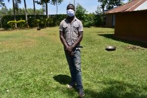 The Water Project: Maraba Community, Shisia Spring -  Juma Masked Up