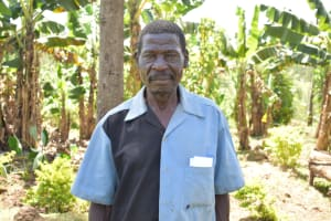 The Water Project: Maraba Community, Shisia Spring -  Samuel Weremba