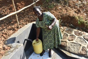 The Water Project: Maraba Community, Shisia Spring -  Happy Smiles At The Spring