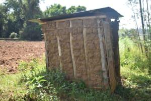 The Water Project: Emusaka Community, Manasses Spring -  Latrine