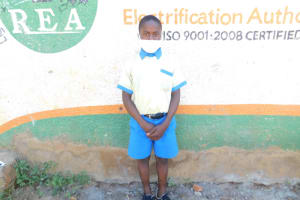 The Water Project: St. Peter's Ebunga'le Primary School -  Bravin