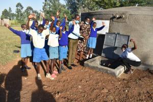 The Water Project: St. Peter's Ebunga'le Primary School -  Celebrating The Rain Tank