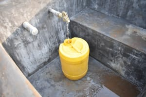 The Water Project: St. Peter's Ebunga'le Primary School -  Clean Water Flowing