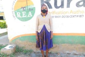 The Water Project: St. Peter's Ebunga'le Primary School -  Sanitation Teacher Irene Angido