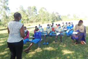 The Water Project: St. Peter's Ebunga'le Primary School -  Training In Action