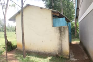 The Water Project: St. Stephens ACK Eshiakhulo Secondary School -  Boys Latrines