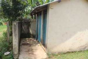 The Water Project: St. Stephens ACK Eshiakhulo Secondary School -  Girls Latrines