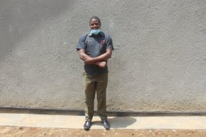 The Water Project: St. Stephens ACK Eshiakhulo Secondary School -  Teacher Barthelemew Omutere Lusaa