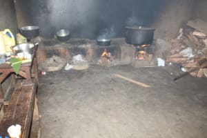 The Water Project: St. Stephens ACK Eshiakhulo Secondary School -  Food Cooking Inside The Kitchen