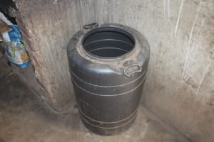 The Water Project: St. Stephens ACK Eshiakhulo Secondary School -  Water Storage Container