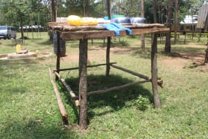 The Water Project: Epanja Secondary School -  Dishrack