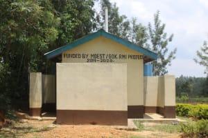 The Water Project: Epanja Secondary School -  Shared Latrines