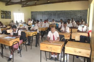 The Water Project: Epanja Secondary School -  Students In Class