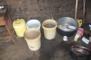 The Water Project: Epanja Secondary School -  Water Storage Containers