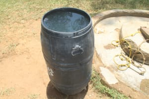 The Water Project: Epanja Secondary School -  Water Storage Drum