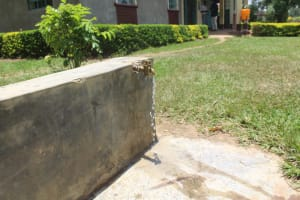 The Water Project: Epanja Secondary School -  Tap Fed By Rain Tank