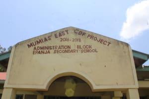 The Water Project: Epanja Secondary School -  School Sign
