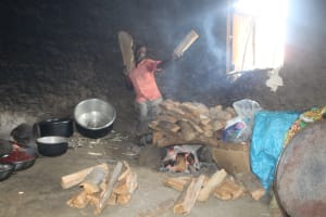 The Water Project: Epanja Secondary School -  School Cook At Work In The Kitchen