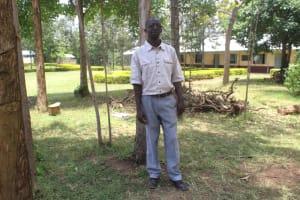 The Water Project: Epanja Secondary School -  Teacher Nyongesa Khayiya
