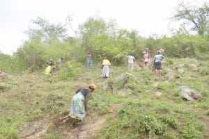 The Water Project: Kasioni Community D -  Community Members