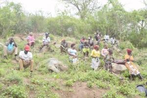 The Water Project: Kasioni Community D -  Shg Members