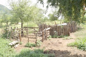 The Water Project: Kasioni Community D -  Animal Pen