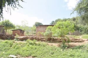 The Water Project: Kasioni Community D -  Compound