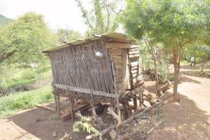 The Water Project: Kasioni Community D -  Grain Storage