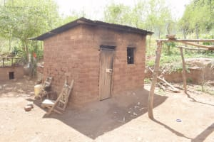 The Water Project: Kasioni Community D -  Kitchen