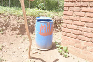 The Water Project: Kasioni Community D -  Water Storage Container