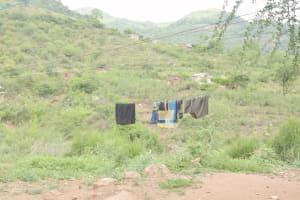 The Water Project: Nzimba Community B -  Clothesline