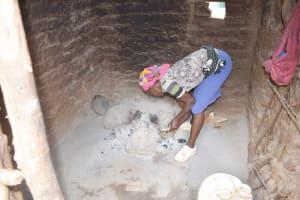 The Water Project: Nzimba Community B -  Inside Kitchen