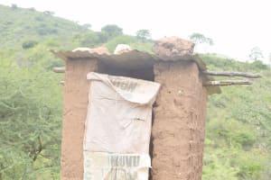 The Water Project: Nzimba Community B -  Latrine