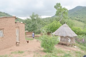 The Water Project: Nzimba Community C -  Household