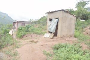 The Water Project: Nzimba Community C -  Latrine