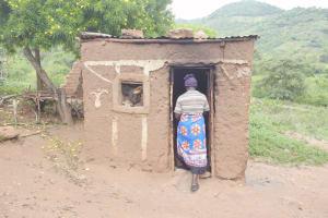 The Water Project: Nzimba Community C -  Walking Into Kitchen