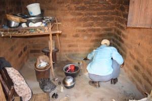 The Water Project: Kyamwalye Community -  Kitchen