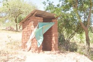 The Water Project: Kyamwalye Community -  Latrine
