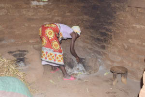 The Water Project: Mbitini Community B -  Inside Kitchen
