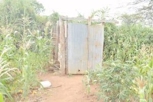 The Water Project: Mbitini Community B -  Latrine