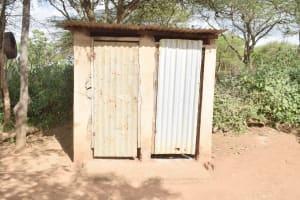 The Water Project: Mbitini Community C -  Latrines