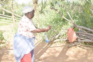 The Water Project: Mbitini Community C -  Tippy Tap
