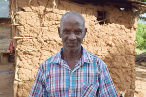 The Water Project: Mbiuni Community C -  Eluid Katunda Kyundu