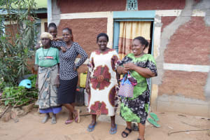 The Water Project: Mbiuni Community C -  Peninah Mueni Thathi And Her Family