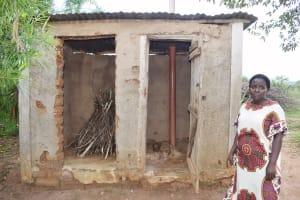The Water Project: Mbiuni Community C -  Latrine