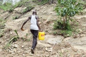 The Water Project: Yumbani Community B -  Carrying Water