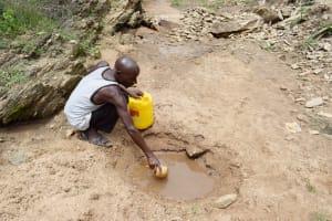 The Water Project: Yumbani Community B -  Fetching Water