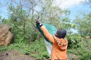 The Water Project: Yumbani Community B -  Clothesline