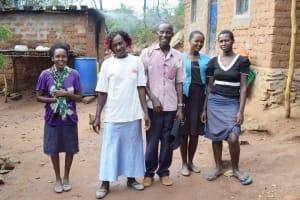 The Water Project: Yumbani Community B -  Family